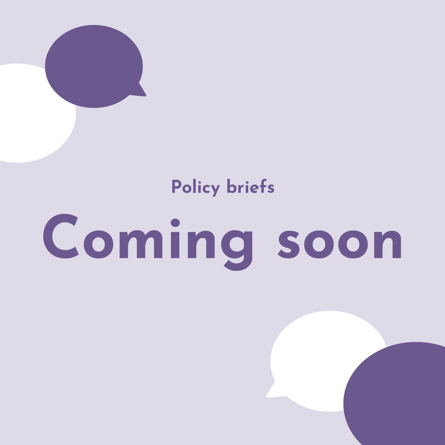 IYTT Policy Briefs - Coming soon